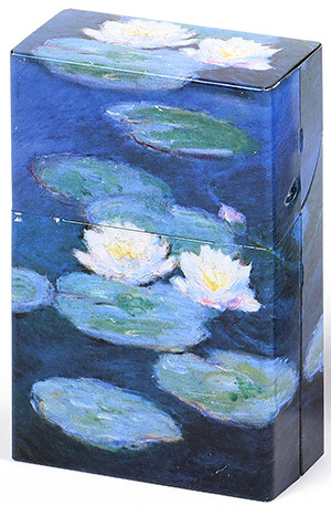 "Zigarettenbox ""Monet Nympheas"""