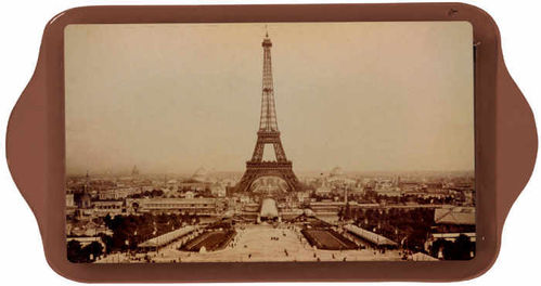"Tablett ""Paris Sepia"""