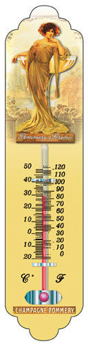 "Thermometer ""Pommery"""