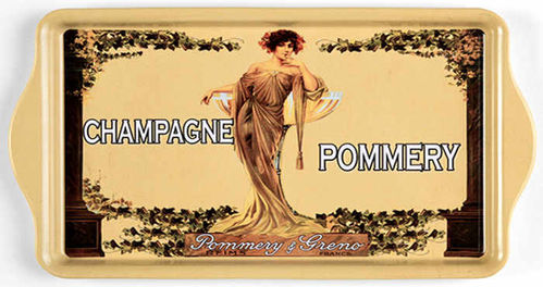"Tablett ""Pommery"""