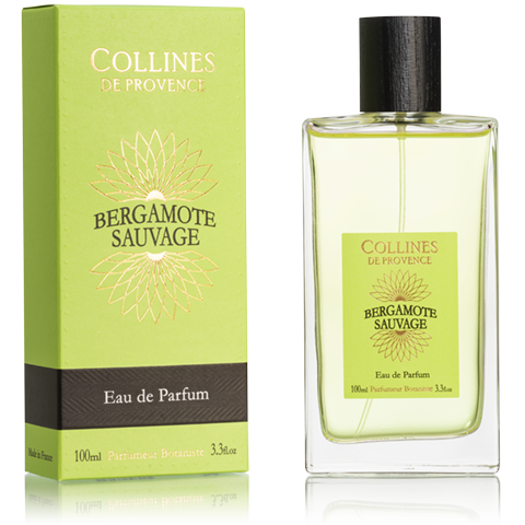 "Eau de Toilette 100ml ""Bergamotte Sauvage"" COLLINES"