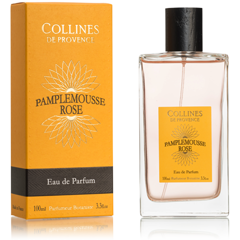 "Eau de Toilette 100ml ""Pamplemousse Rose"" COLLINES"