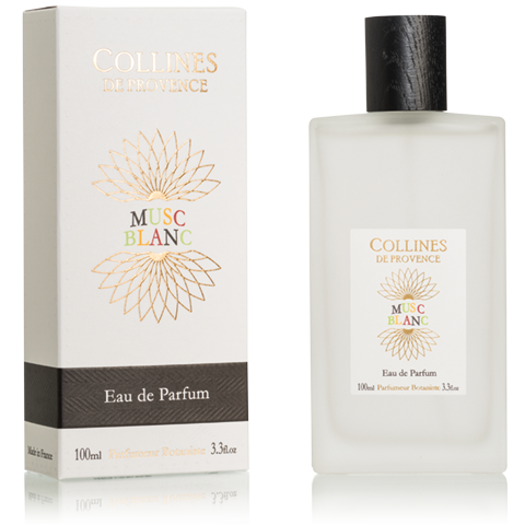 "Eau de Toilette 100ml ""Musc Blanc"" COLLINES"